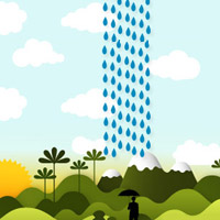 The Bible and rain